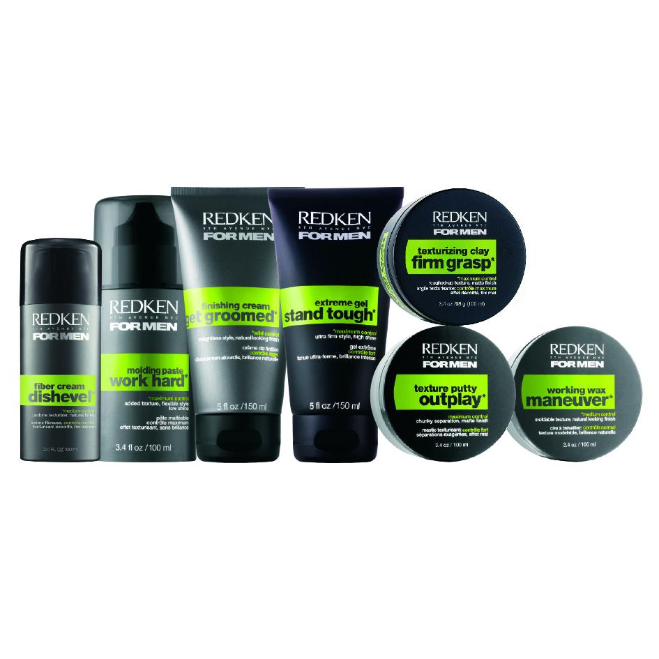 Redken mens haircare the hair company salon thc for Salon redken